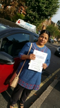 Thank you so much Shereen everything you have done for me You are the best instructor I recommend who wants to learn driving she is the best<br />
