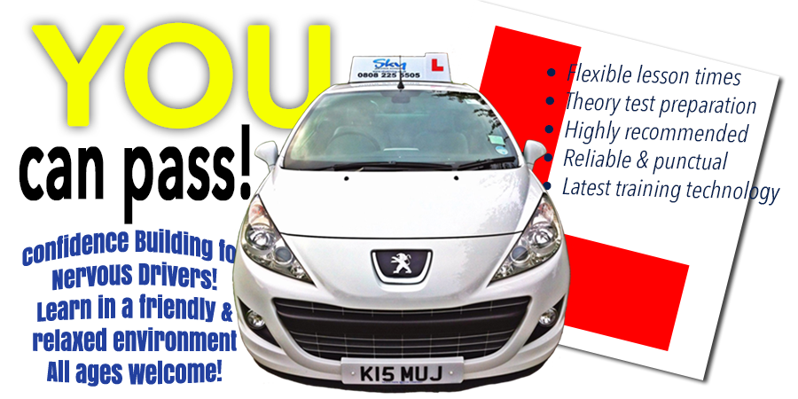 Driving lessons with SKY DRIVING SCHOOL